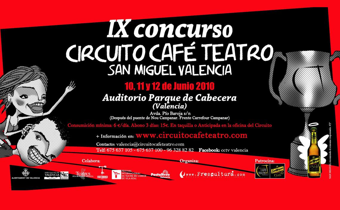 IX Concurso Circuito Café Teatro Valencia 2010