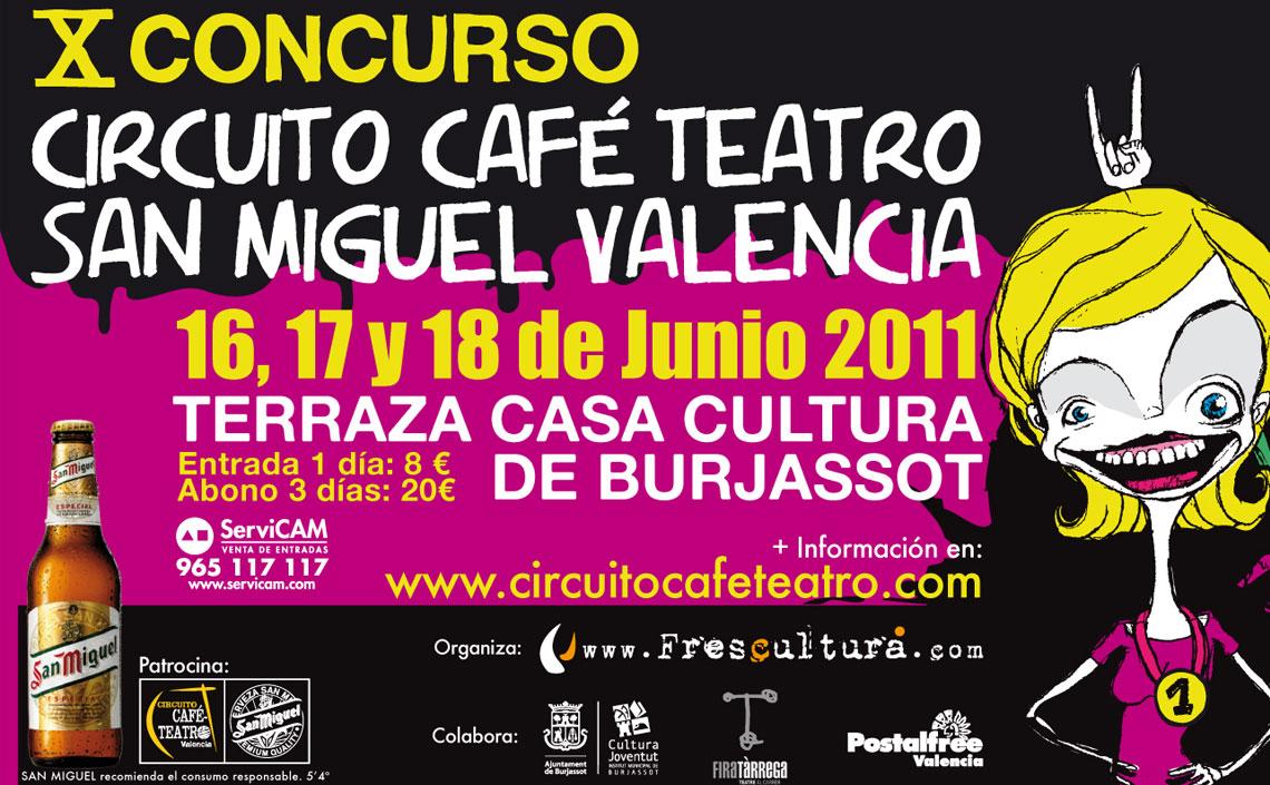 X Concurso Circuito Café Teatro Valencia 2011