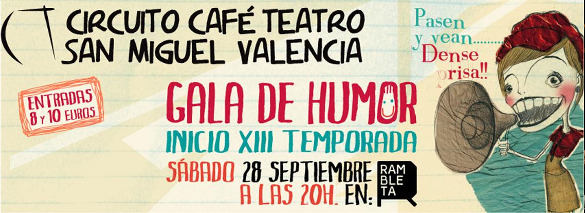 XIII Gala de Humo Circuito Café Teatro Valencia