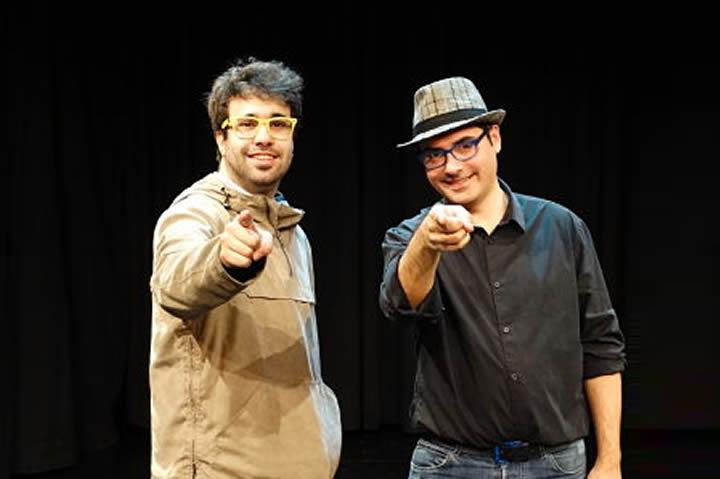 Entrevista Paco Hernández y Pere Rafart. Humor, magia y música.